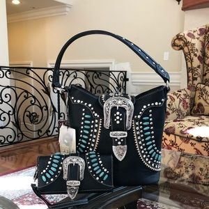 Western Montana west conceal carry handbag&wallet
